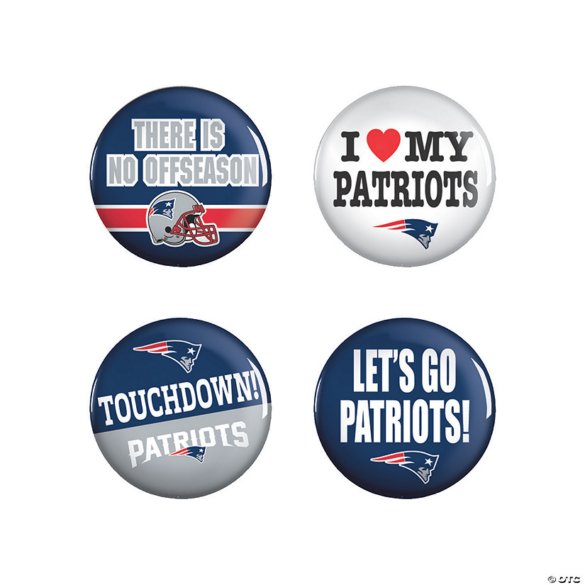 NFL® New England Patriots™ Buttons