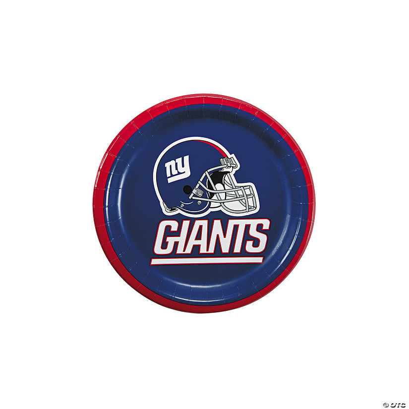 NFL® New York Giants™ Paper Dessert Plates