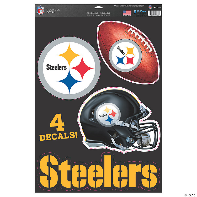 NFL® Pittsburgh Steelers™ Window Decals
