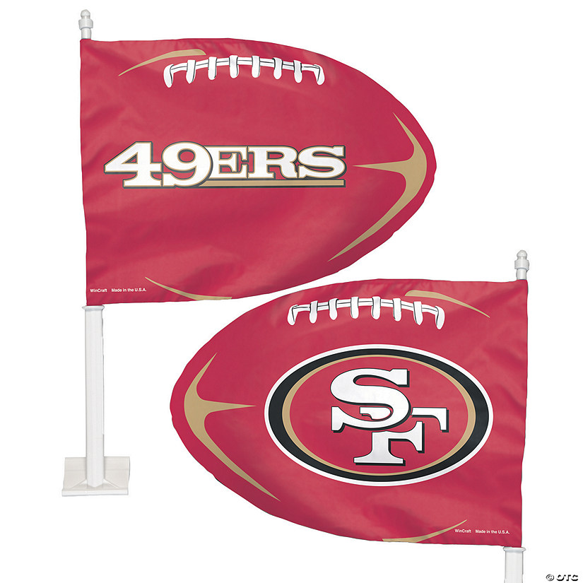 NFL® San Francisco 49ers™ Car Flag