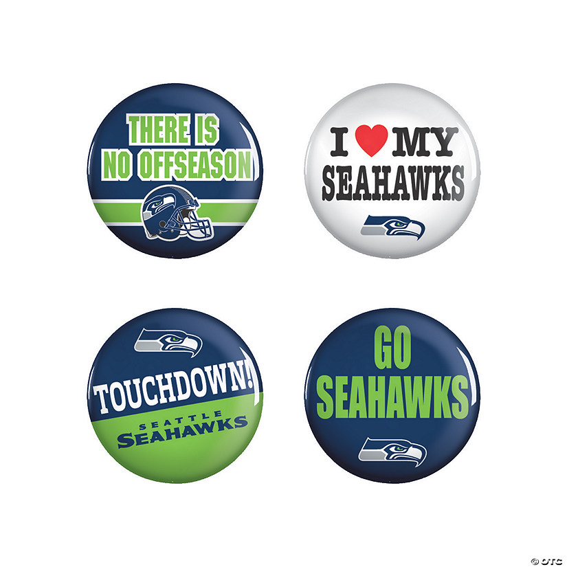 NFL® Seattle Seahawks™ Buttons