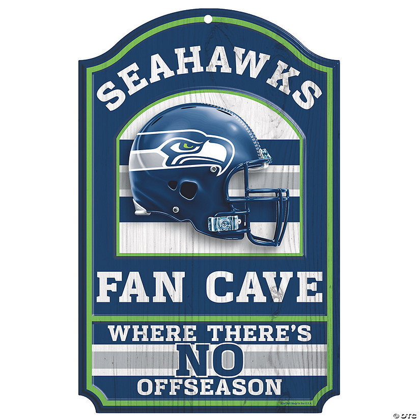 NFL® Seattle Seahawks™ Fan Cave Sign