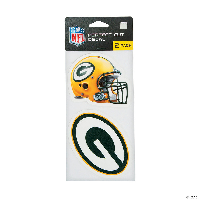 NFL<sup>®</sup> Green Bay Packers<sup>™</sup> Perfect Decals