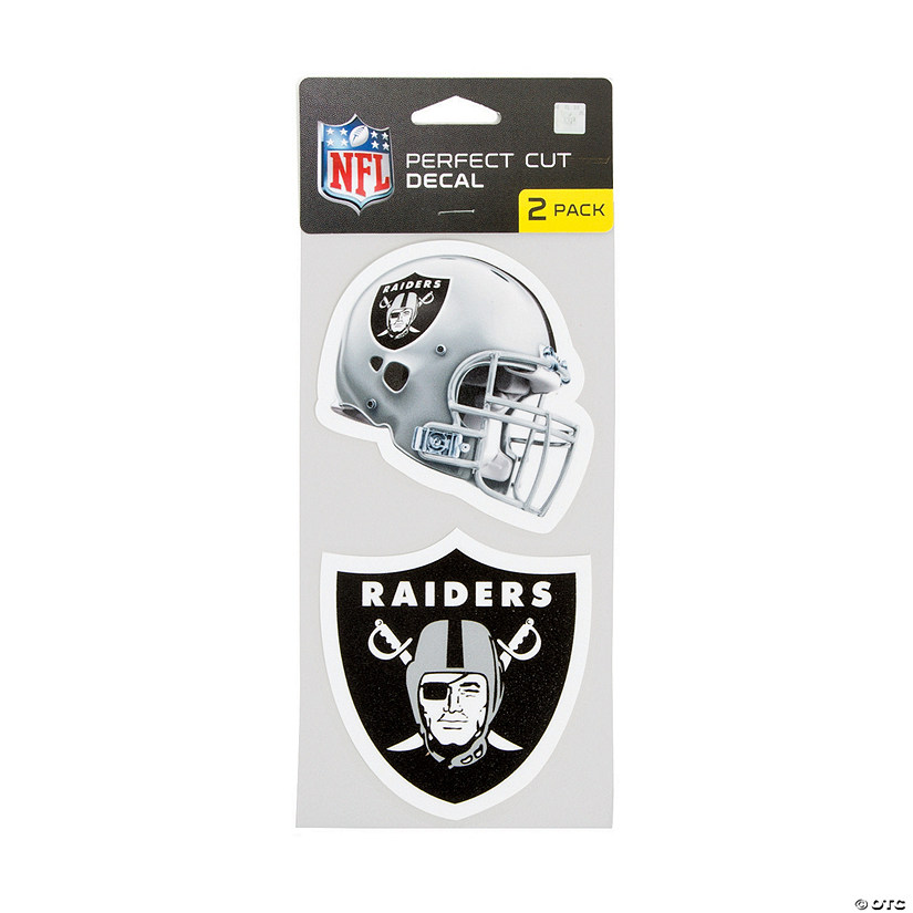 NFL<sup>®</sup> Oakland Raiders<sup>™</sup> Perfect Decals