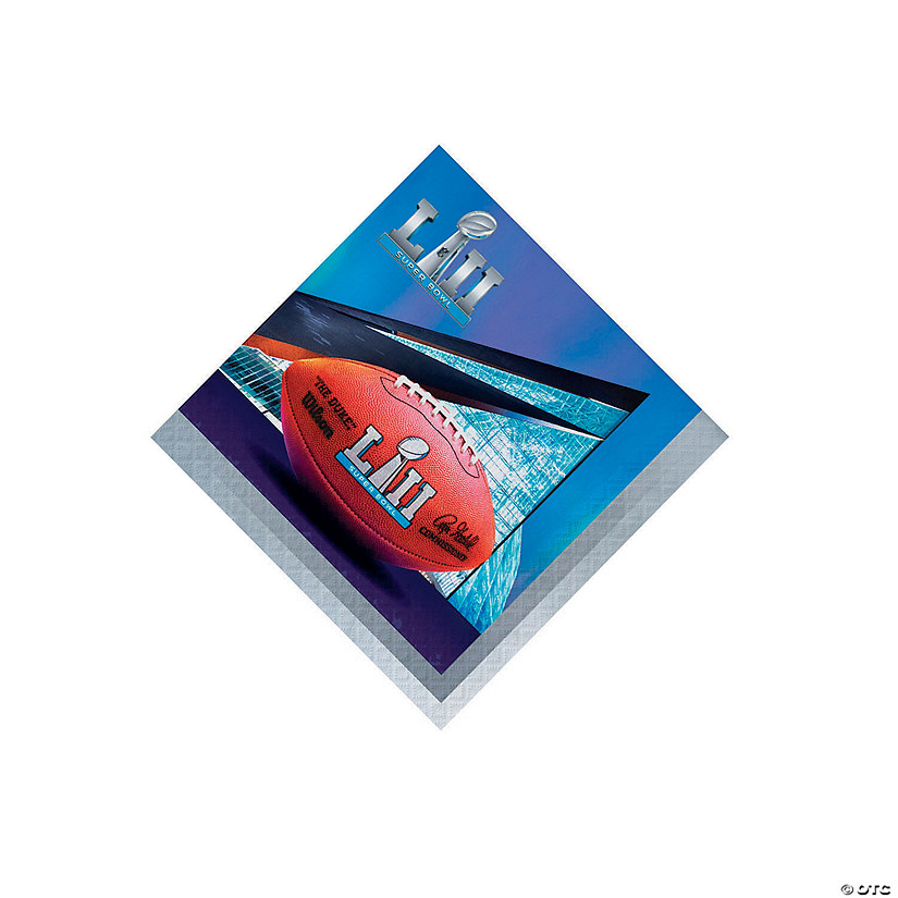 NFL<sup>®</sup> Super Bowl 2018 Beverage Napkins