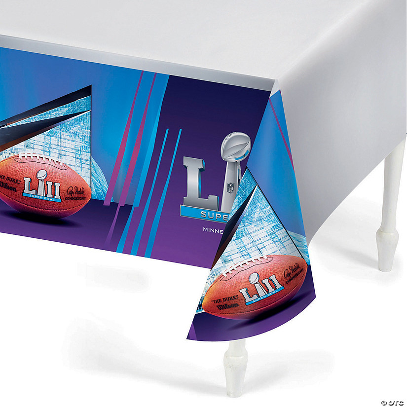 NFL<sup>®</sup> Super Bowl 2018 Plastic Tablecloth