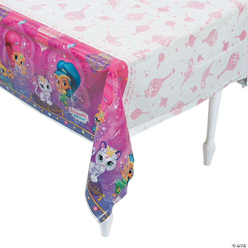 Nickelodeon™ Shimmer & Shine™ Plastic Tablecloth