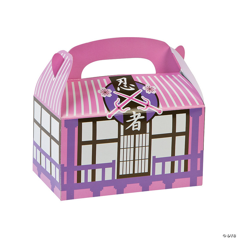 Ninja Girl Favor Boxes