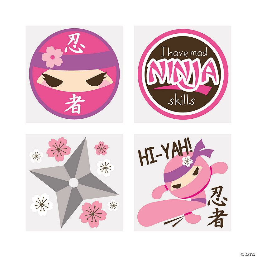 Ninja girl tattoo