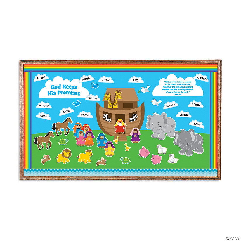 Noah's Ark Bulletin Board Set