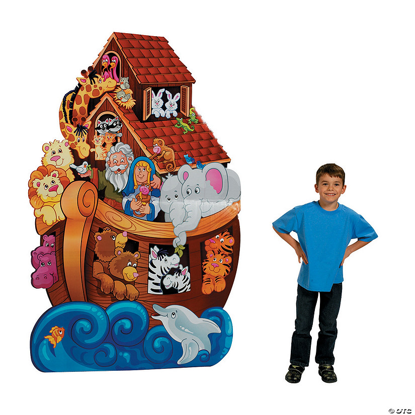 Noah's Ark Cardboard Stand-Up