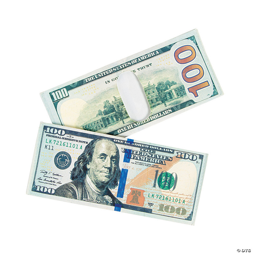 Novelty $100 Bill Wallets