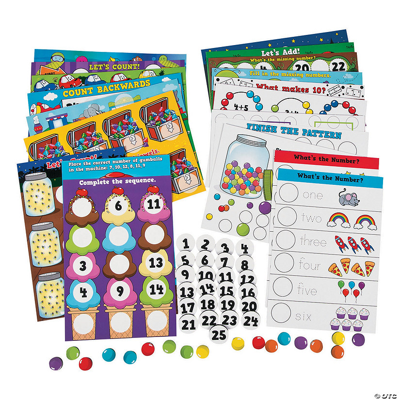 Numbers & Counting Magnetic Activity Set