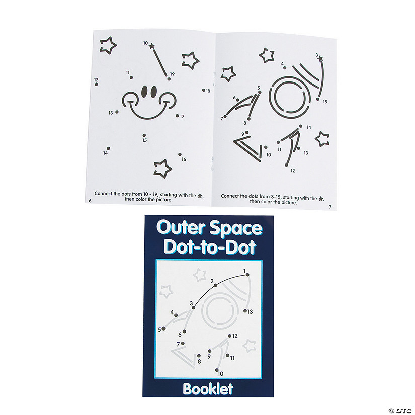 Numbers Dot-to-Dot Activity Books