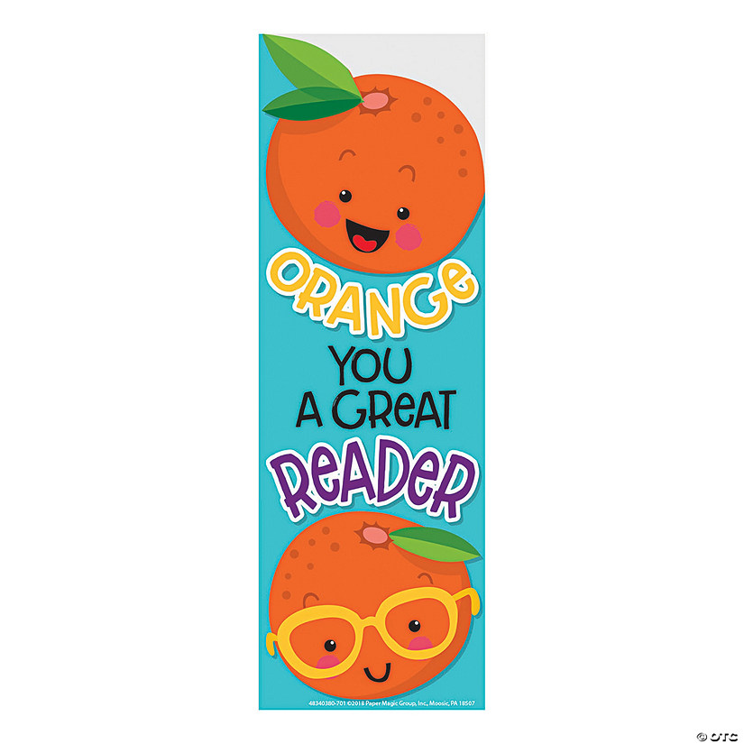 Orange-Scented Bookmarks
