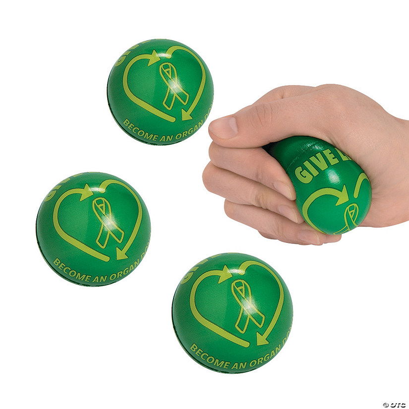 Organ Donor Awareness Stress Balls