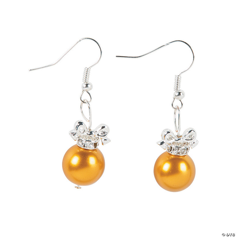 Ornament Ball Earrings Craft Kit