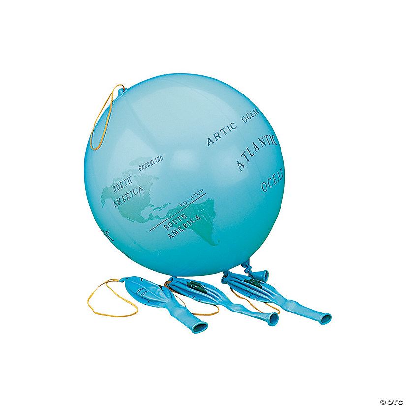 Our Earth™ Punch Ball Balloons