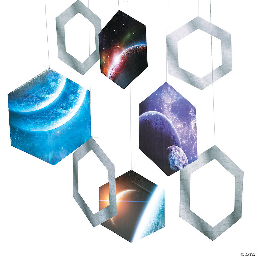 Out of This World Hanging Hexagon Set