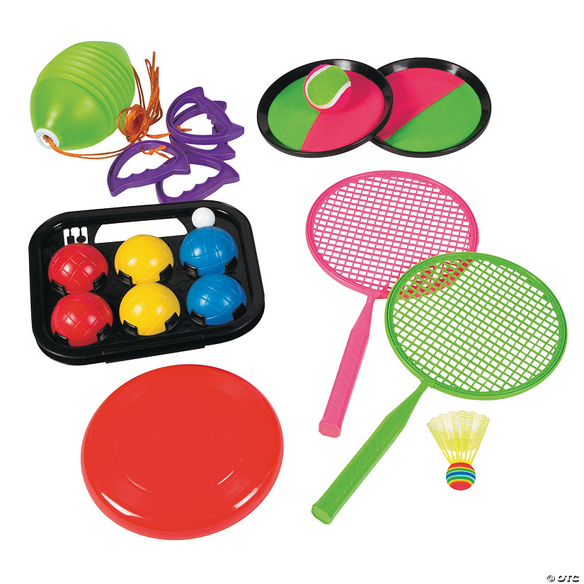 Outdoor Fun & Games Set