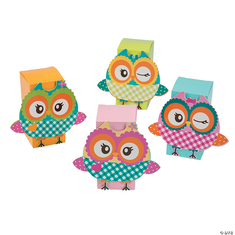 Owl Party Favor Boxes