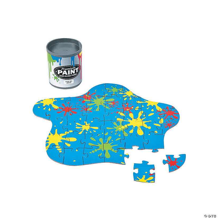 Paint Can Mini Puzzles