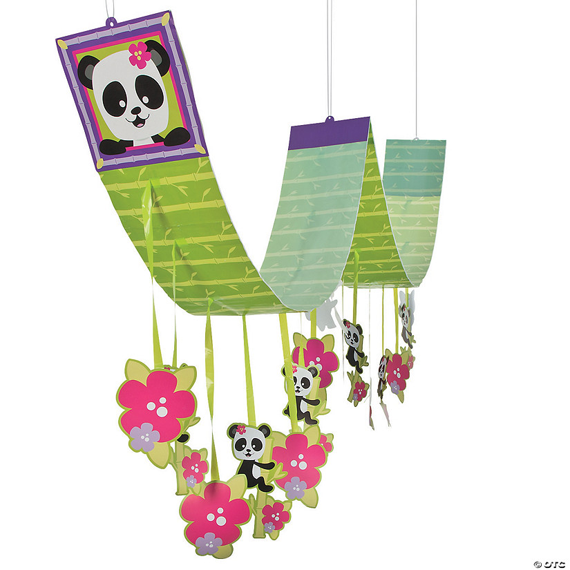 Panda Party Hanging Ceiling Decoration