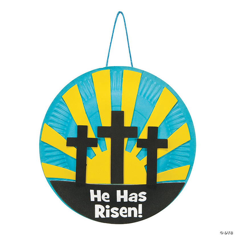 Paper Plate Resurrection Craft Kit