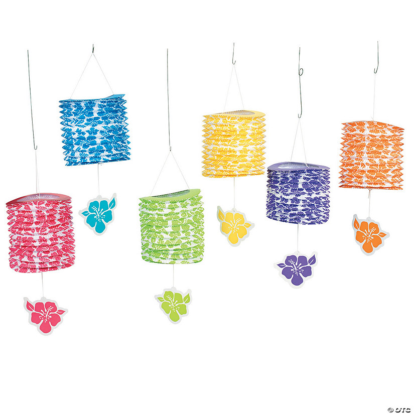 Paradise Party Hanging Paper Lanterns