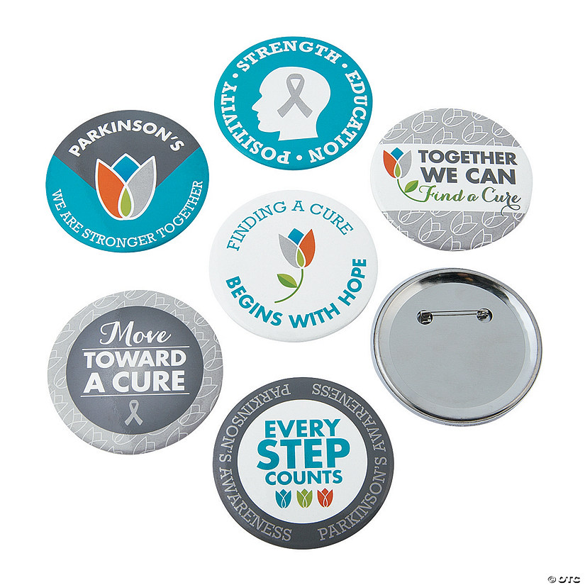 Parkinson's Awareness Buttons