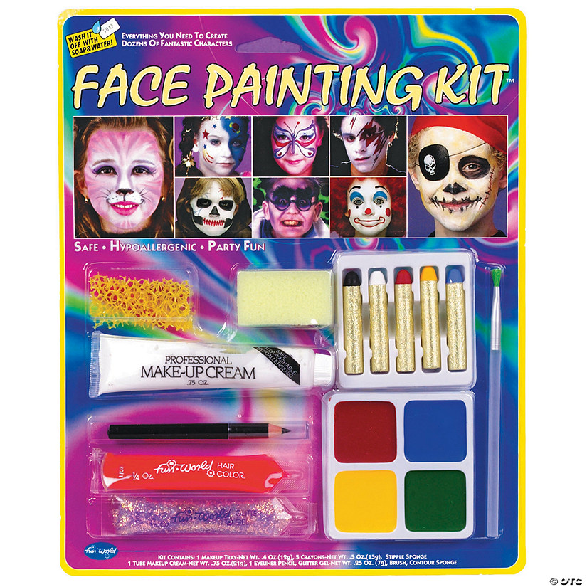 Party Face Painting Makeup Kit