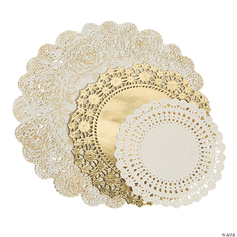 Party Porcelain Paper Doilies