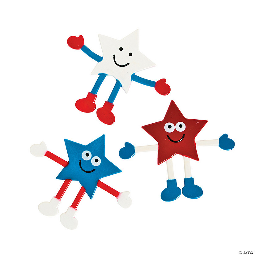 Patriotic Bendable Characters