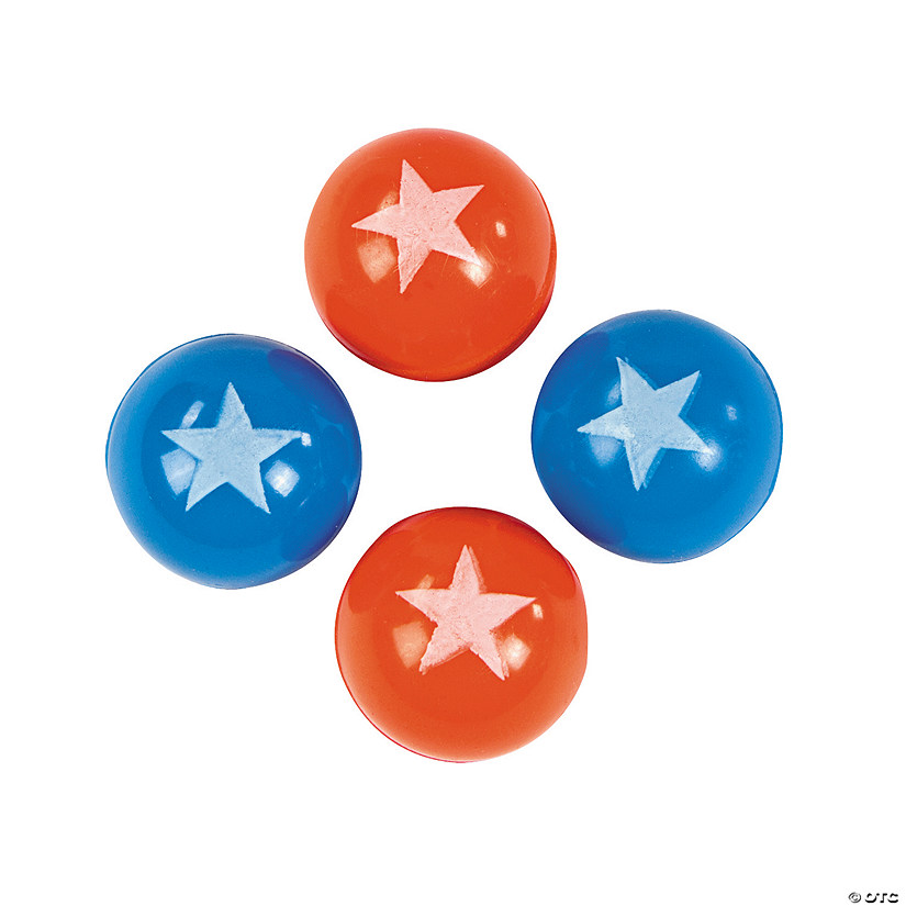 Patriotic Bouncy Ball Assortment