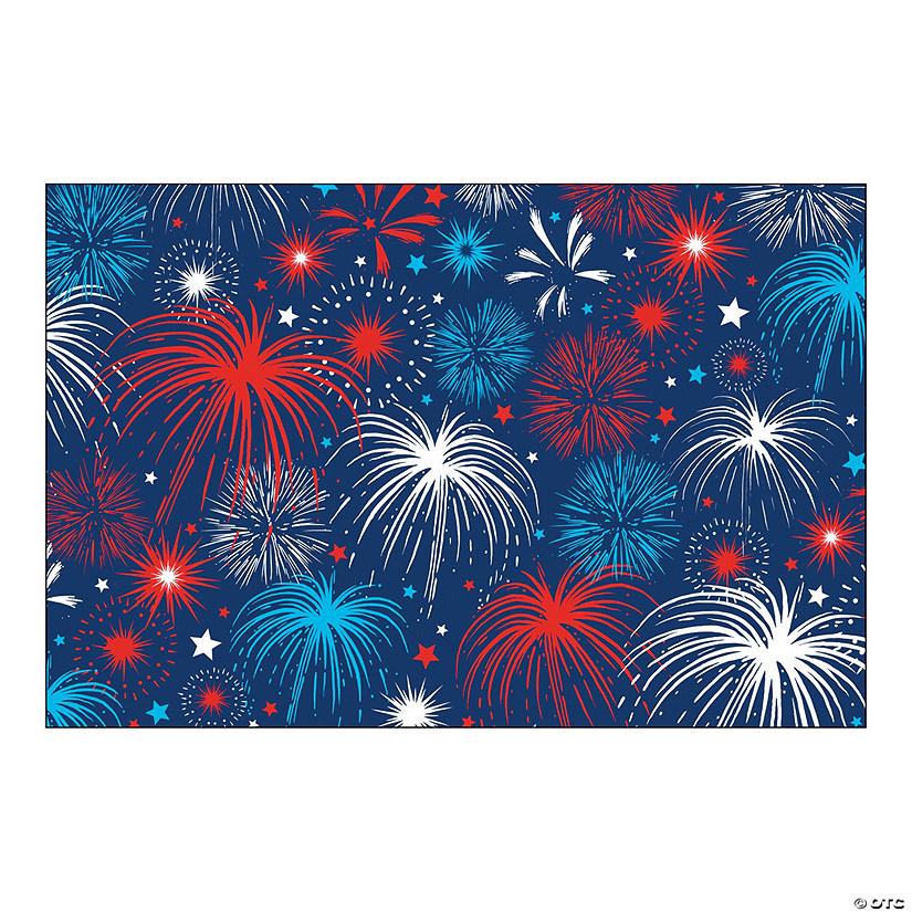 Patriotic Bursts Backdrop