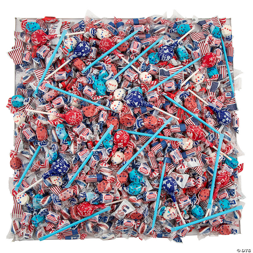 Patriotic Candy Assortment - 1000 pc.