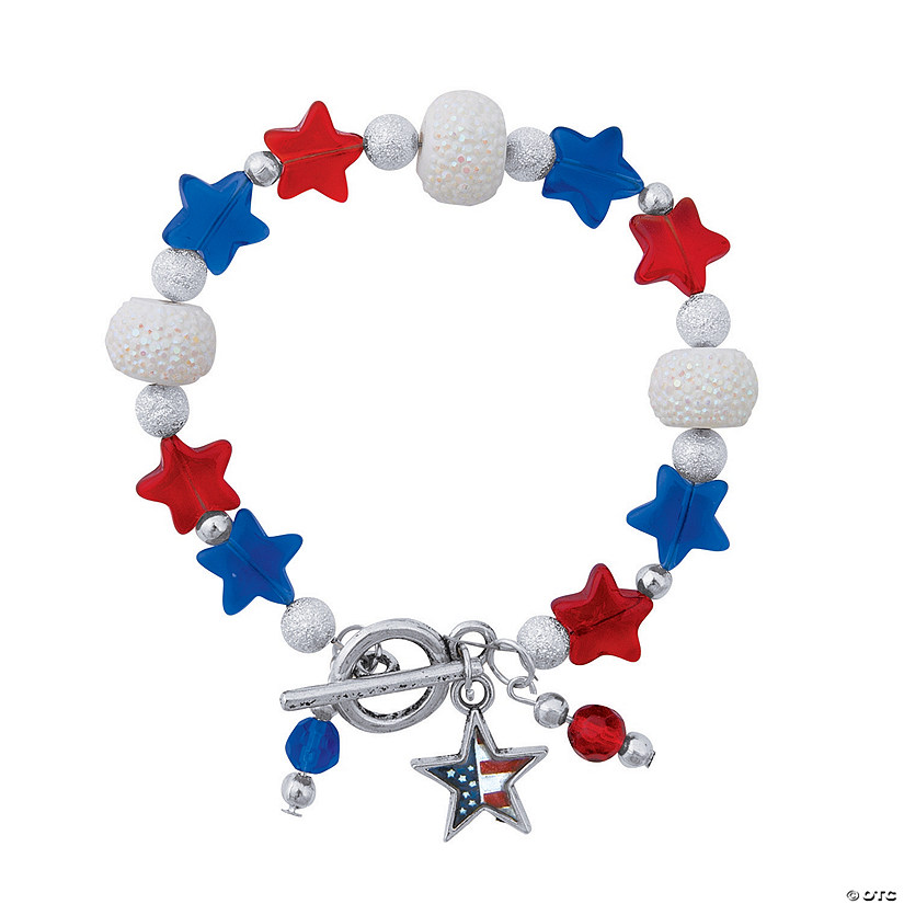 Patriotic Dangle Bracelet Craft Kit