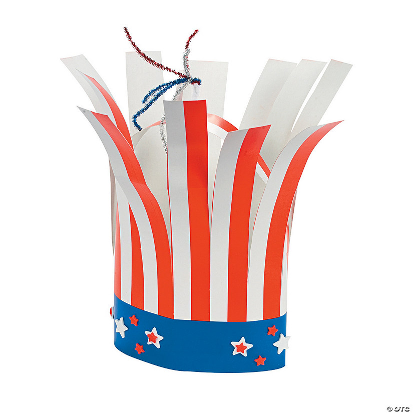 Patriotic Firecracker Hat Craft Kit