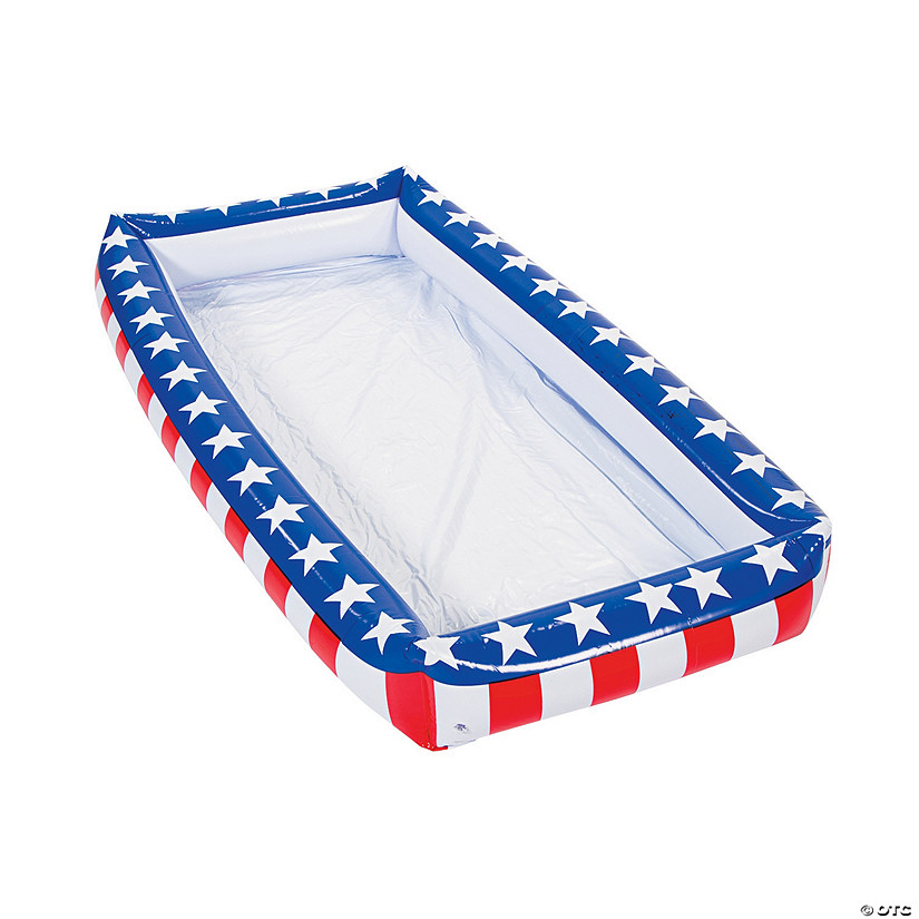 Patriotic Inflatable Buffet Cooler