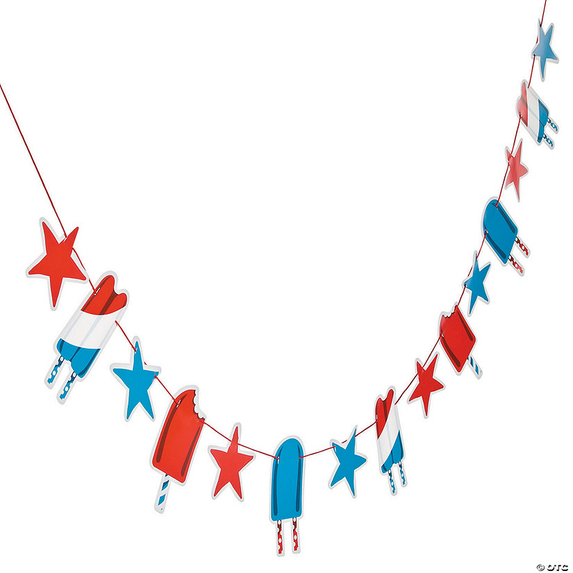 Patriotic Pop Garland