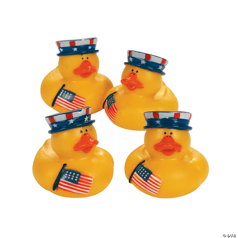 Patriotic Rubber Duckies