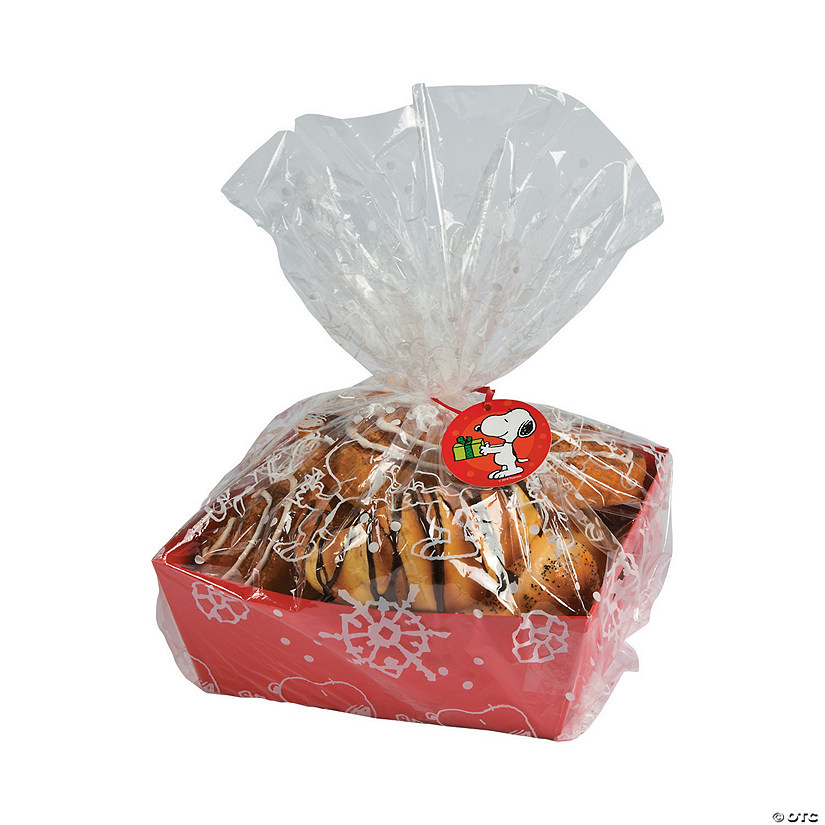 Peanuts® Christmas Trays With Bags & Tags