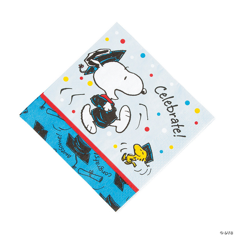 Peanuts® Graduation Luncheon Napkins