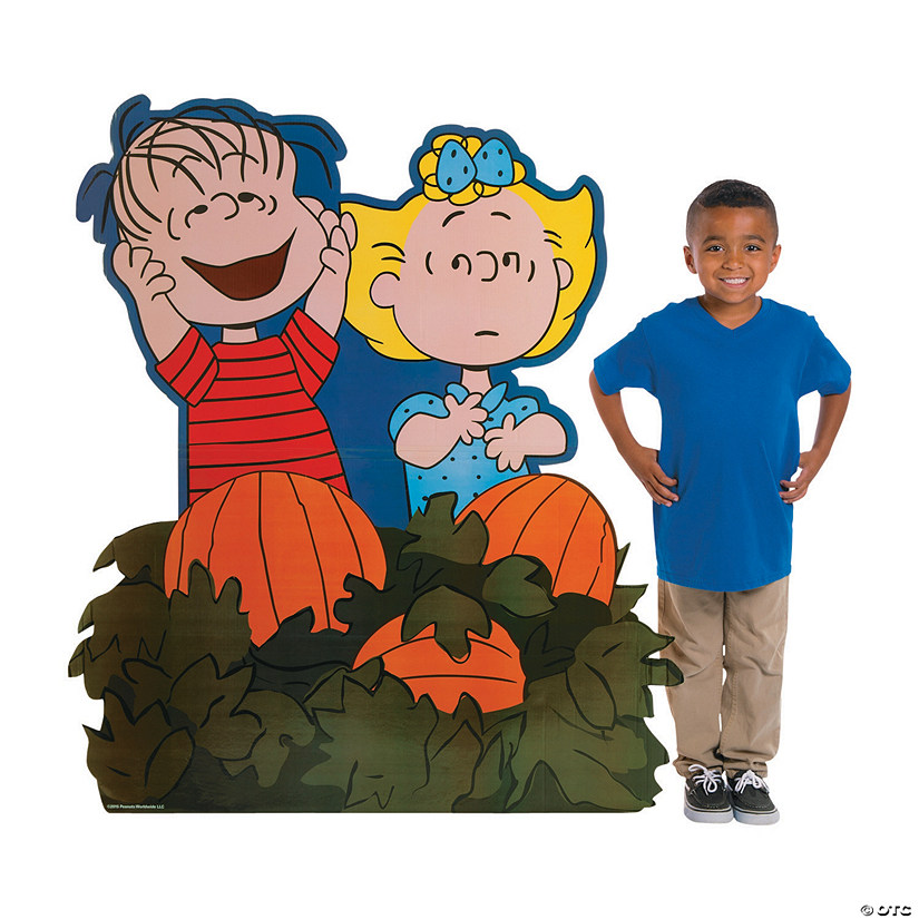 Peanuts® Great Pumpkin Cardboard Stand-Up