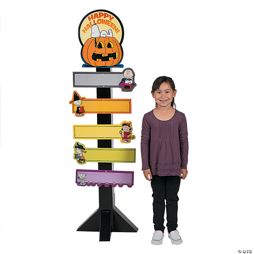 Peanuts® Halloween Directional Sign