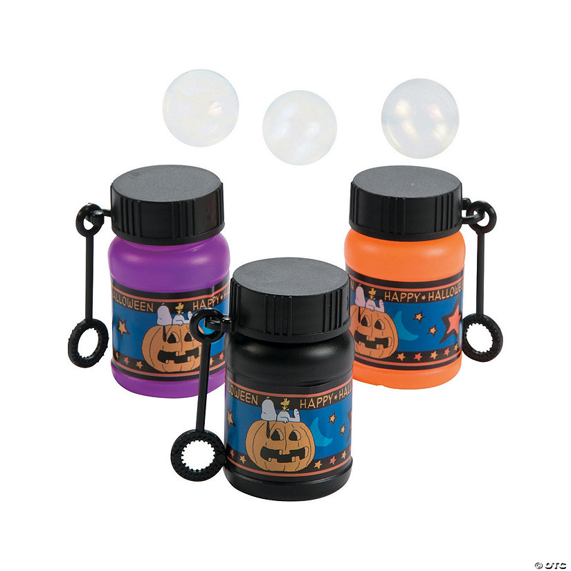Peanuts® Halloween Mini Bubble Bottles