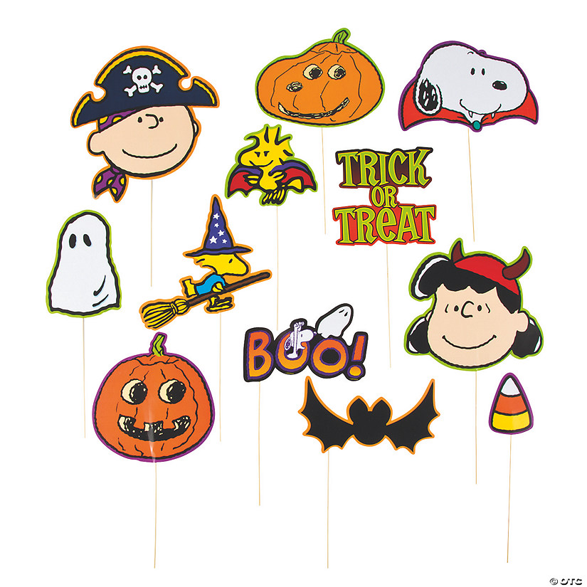 Peanuts® Halloween Photo Props