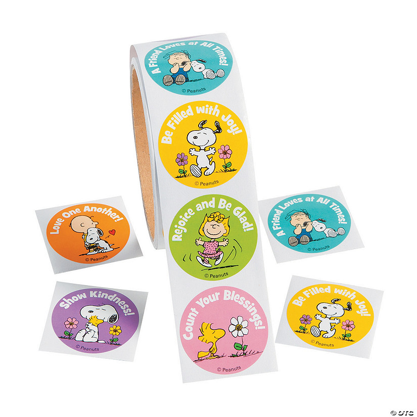 Peanuts® Inspirational Stickers