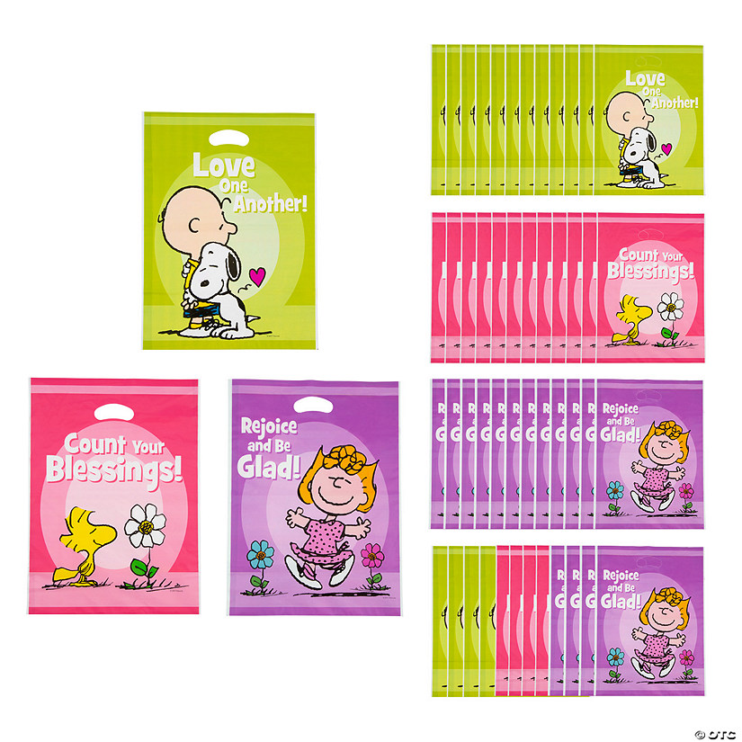 Peanuts<sup>®</sup> Inspirational Goody Bags
