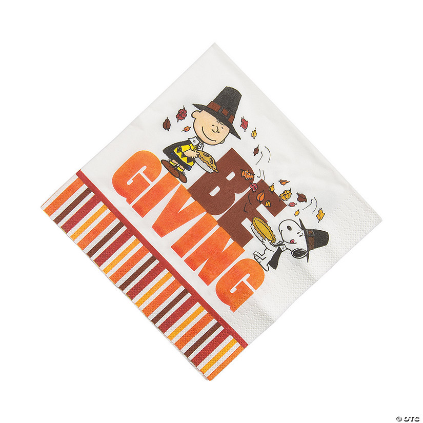 Peanuts® Thanksgiving Luncheon Napkins